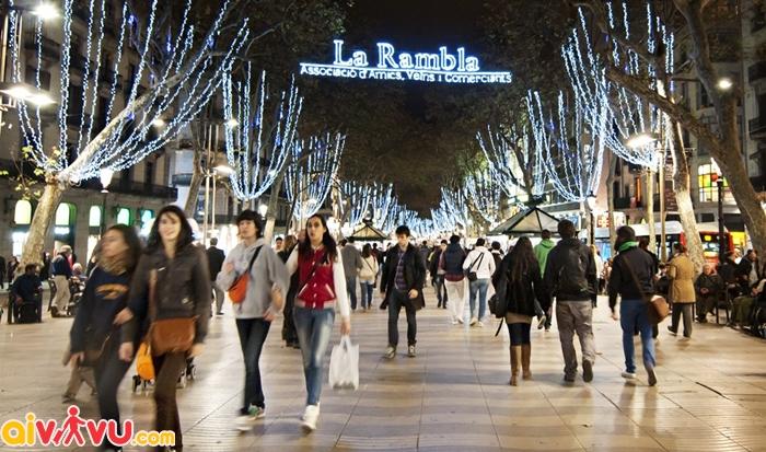 Con phố La Rambla