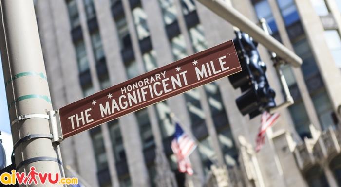 Đại lộ mua sắm Magnificent Mile