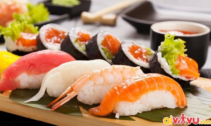 Sushi - quốc hồn quốc túy ẩm thực Nhật