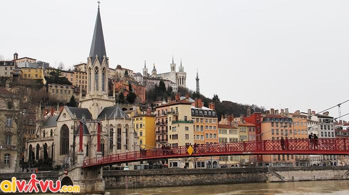 Phố cổ Lyon