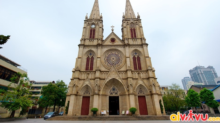 Nhà thờ Thánh Tâm - Quảng Châu