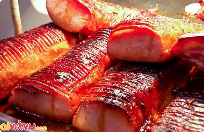 Thịt ba rọi nướng Canada