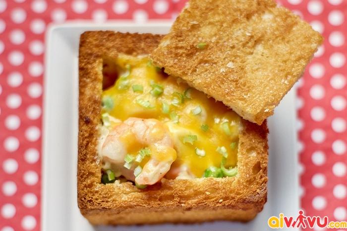 Bánh mì quan tài - đặc sản ẩm thực Đài Loan
