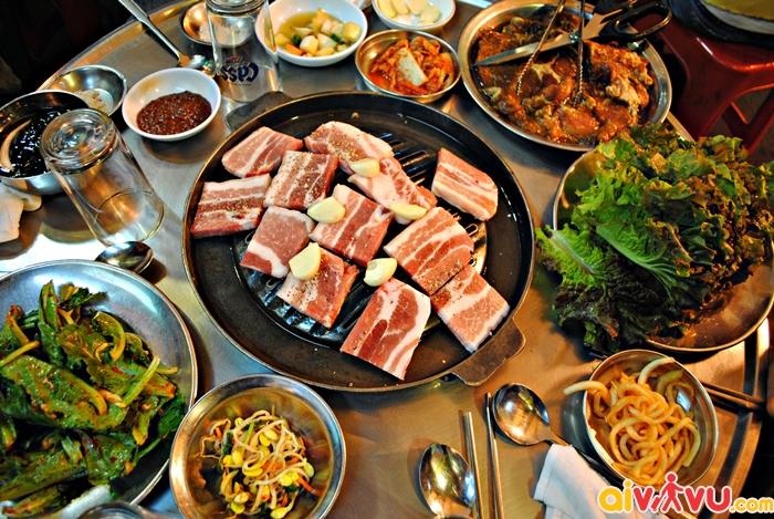 Thịt ba chỉ nướng Samyeopsal
