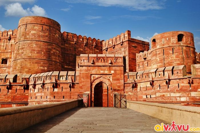 Pháo đài Đỏ Delhi không thua kém gì Tử Cấm Thành của Trung Quốc