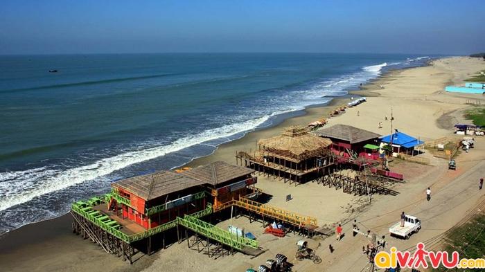 Bazar Cox được thiên nhiên ban tặng nhiều bãi biển tuyệt đẹp