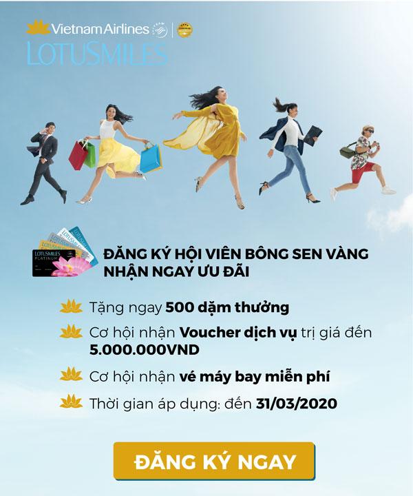 Đăng ký hội viên mới  Vietnam Airlines