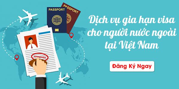 gia hạn Visa cho người ngước ngoài