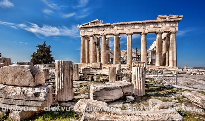 Athens thủ đô của Hy Lạp là thành phố cổ xưa nhất