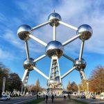Atomium được mệnh danh là tháp Eiffel của Brussels