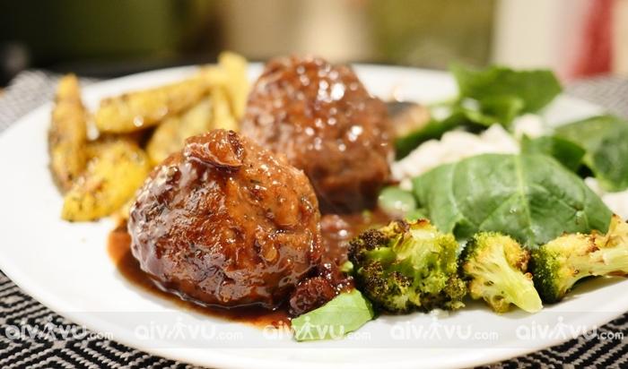 Boulet au Sauce Lapin đặc sản nổi tiếng ở Bỉ