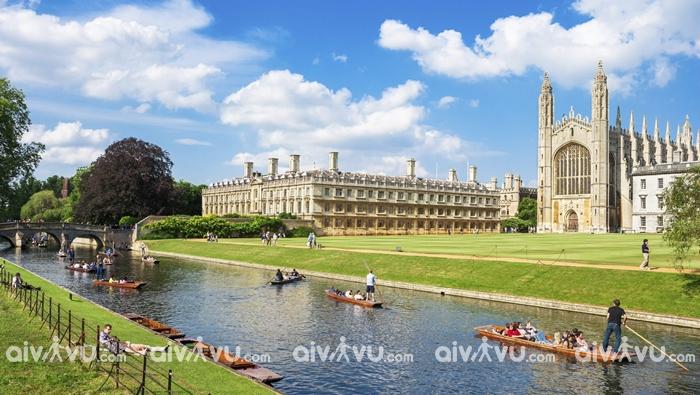 Thành phố Cambridge - Anh