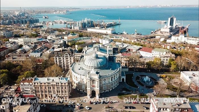 Thành Phố Cảng Odessa Ukraine