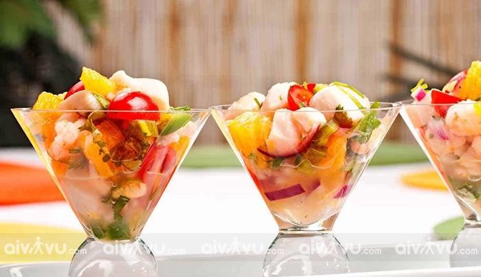 Ceviche biểu tượng ẩm thực của Miami