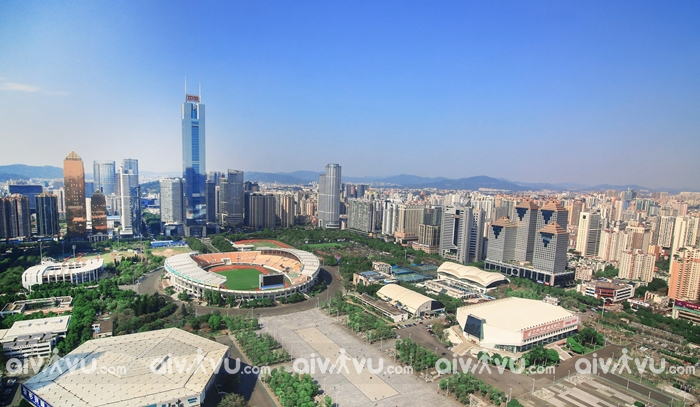 CiTic Plaza tòa nhà cao thứ 4 tại Trung Quốc