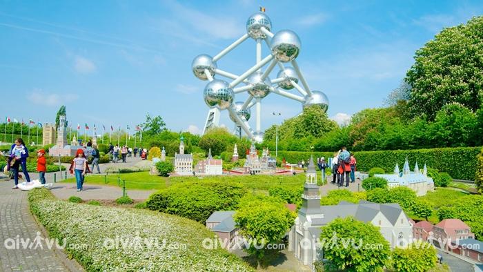 Công viên Brussels được xem là châu Âu thu nhỏ