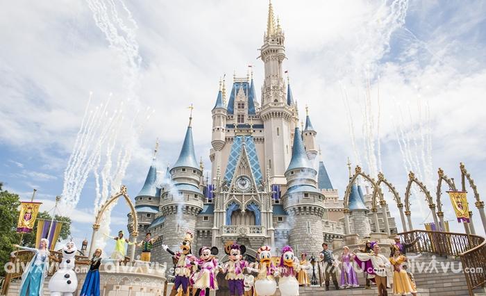 Disneyland - Công viên giải trí nổi tiếng tại Mỹ