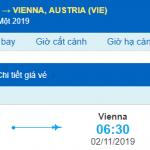 Vé máy bay đi Vienna từ Hồ Chí Minh