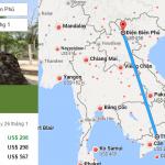 Tham khảo hành trình bay đến Điện Biên