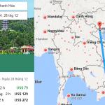 Tham khảo hành trình bay từ TP HCM đến Thanh Hóa