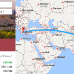 Tham khảo hành trình bay từ Hà nội đến Athens