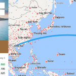 Tham khảo hành trình bay từ Hà Nội đến Honolulu