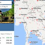 Tham khảo hành trình bay từ Hà Nội đến Huế