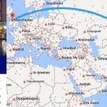Tham khảo hành trình bay từ Hà nội đến Manchester: