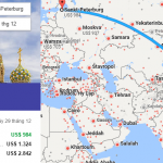 Tham khảo hành trình bay từ Việt Nam đến Saint Petersburg