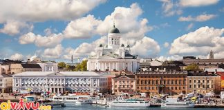 ve may bay di helsinki gia re