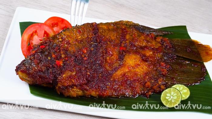 Ikan bakar món ăn đặc trưng của Malaysia