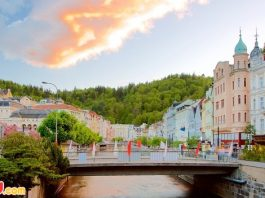 ve may bay di Karlovy Vary gia re