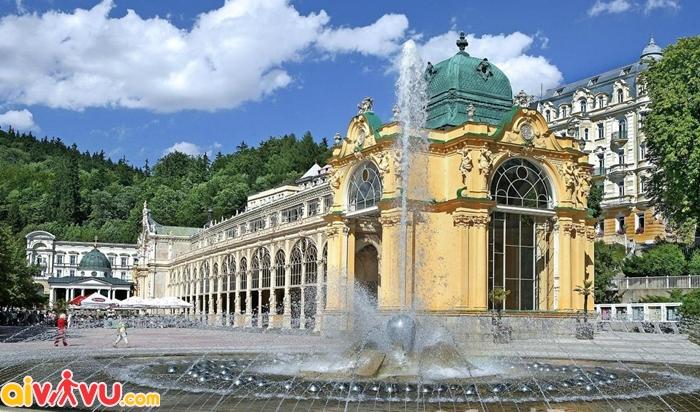 Mạch nước khoáng ở Karlovy Vary