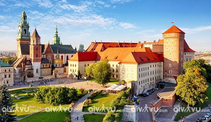 Thành phố Krakow cổ kính nhất tại Ba Lan