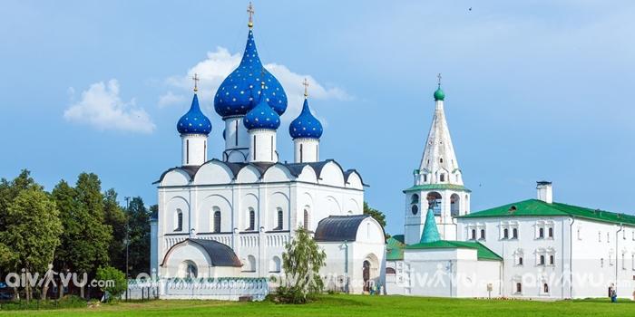 Tòa thành Kremlin Suzdal Nga