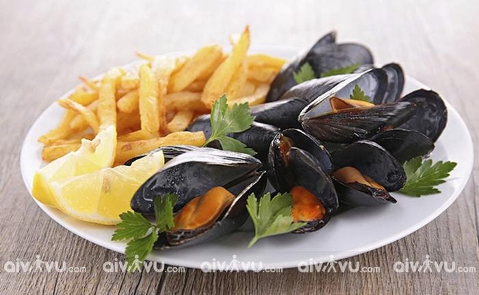 Moules là món ăn quốc gia của Bỉ