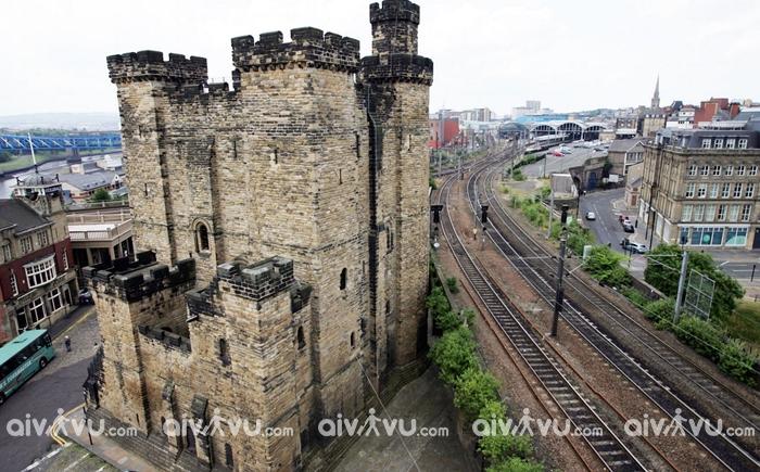 Lâu đài Keep - Newcastle