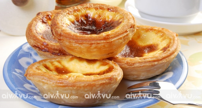 Pasteis de Nata món bánh nổi tiếng nhất tại Lisbon