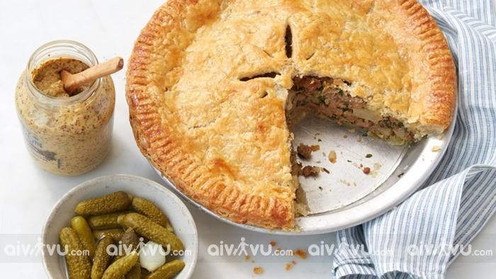 Pork pie món ăn đặc trưng của London
