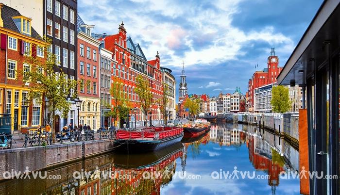 Kênh Raamgracht - Amsterdam