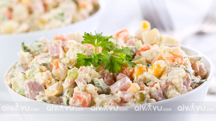 Salad Nga món ăn nổi tiếng tại Nga