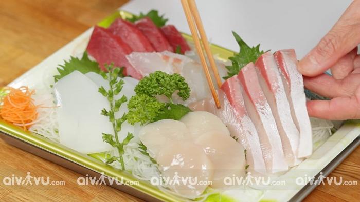 Sashimi món ăn truyền thống của người Nhật Bản
