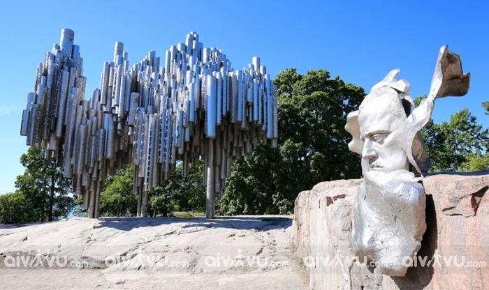 Đài tưởng niệm Sibelius - Helsinki