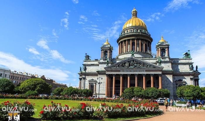 Nhà thờ St. Isaac - Saint Petersburg