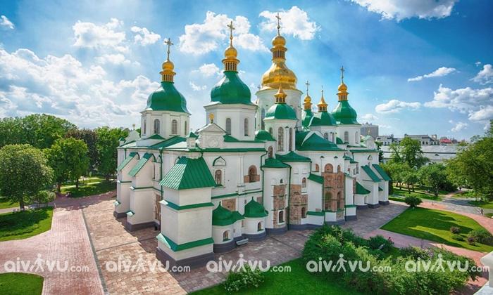 Nhà thờ St Sophia cổ xưa nhất ở Kiev