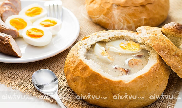 Súp Zurek món súp ngon và độc đáo tại Warsaw