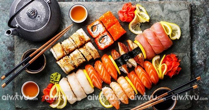 Sushi rất được yêu thích tại Los Angeles
