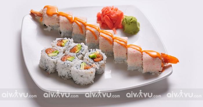 Sushi ẩm thực đặc trưng của Nhật Bản