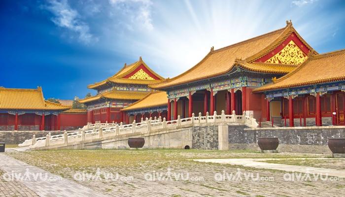 Tử Cấm Thành được xem là biểu tượng của Bắc Kinh