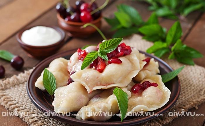 Varenyky bánh bao độc đáo của Ukraine